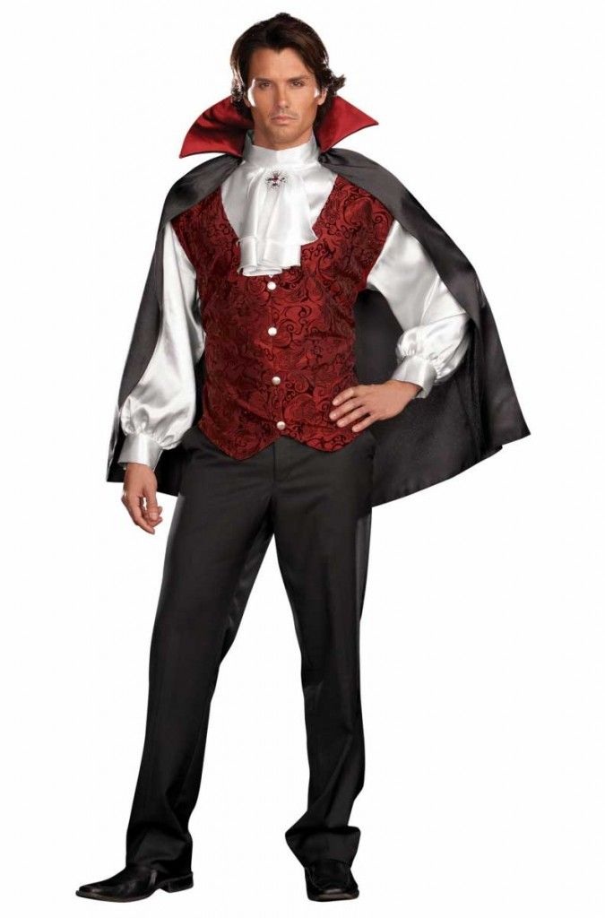 Sexy Vampire Costume Men : vampire, costume, Halloween, Costumes