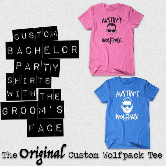 f12dd3599bc2e Wolfpack Shirt, Wolfpack, Wolfpack Tshirt, Bachelor Party Shirts ...