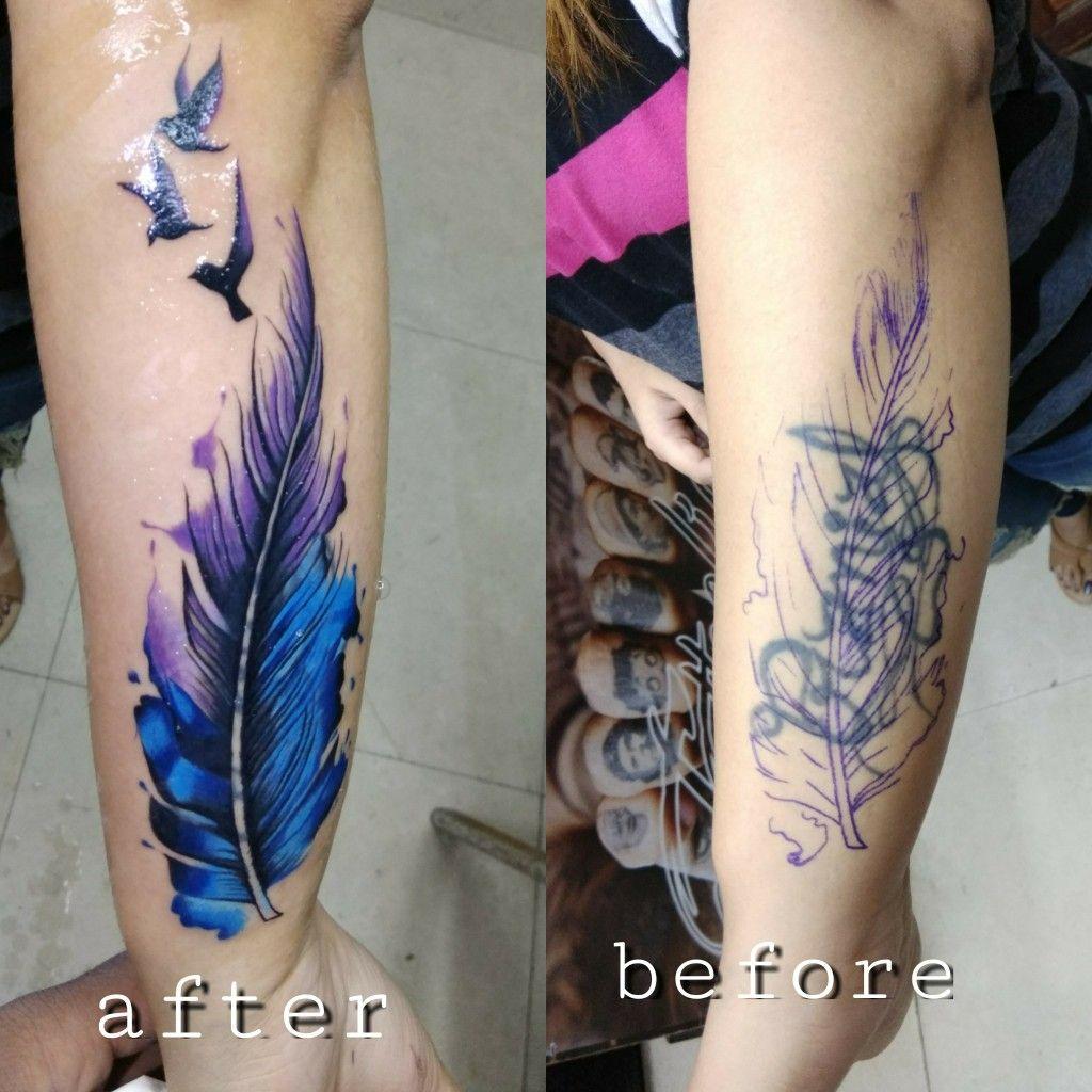 Cover up tattoo Cover up tattoos, Arm cover up tattoos