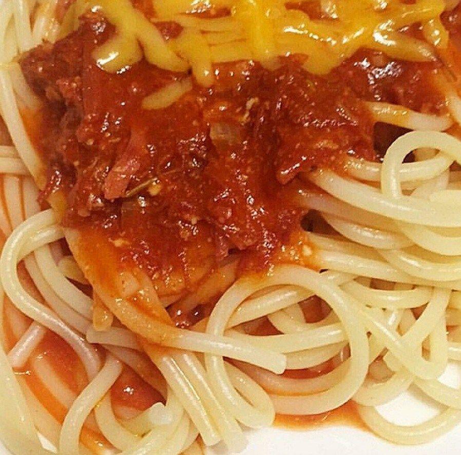 Corned Beef Spaghetti Mad