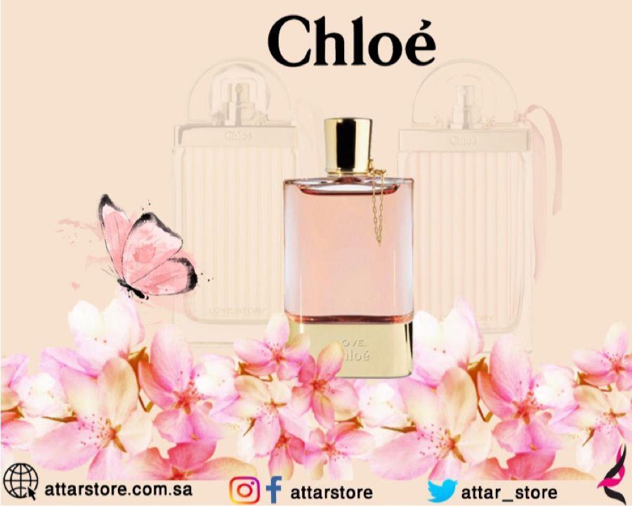 Chloe Love For Women Eau De Parfum عطر زهري لـ النساء تتكون م قدمته من زهرة البرتقال وزهرة الفلفل الوردي وقلب العطر Perfume Bottles Perfume Beauty