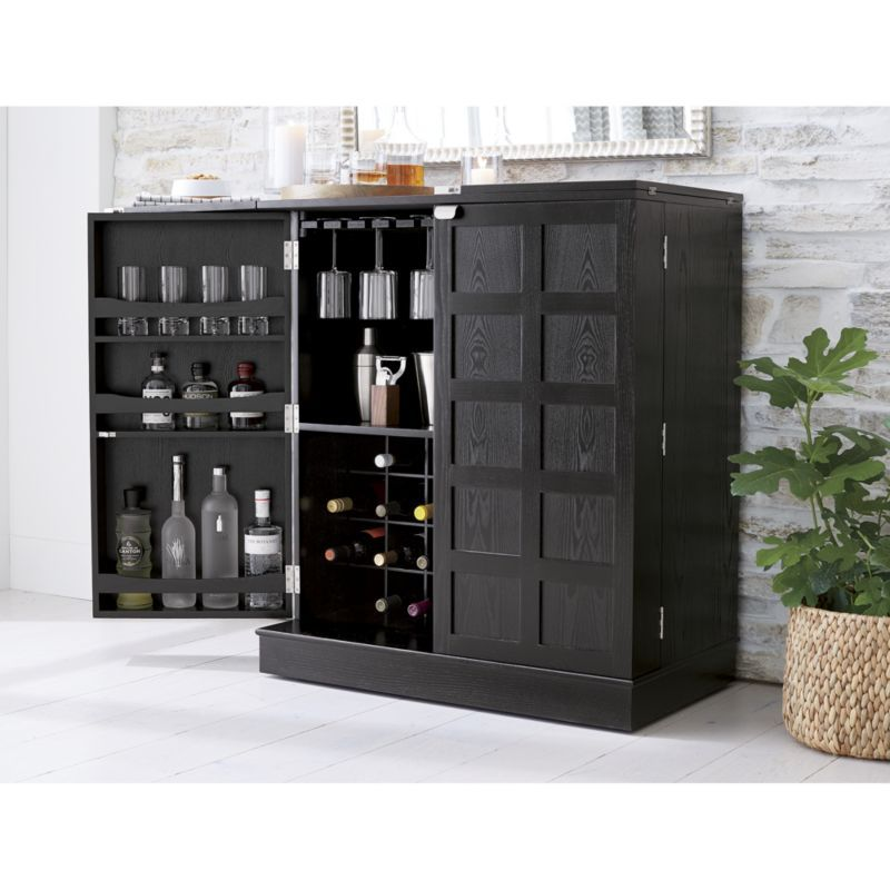 Superieur Steamer Bar Cabinet | Crate And Barrel