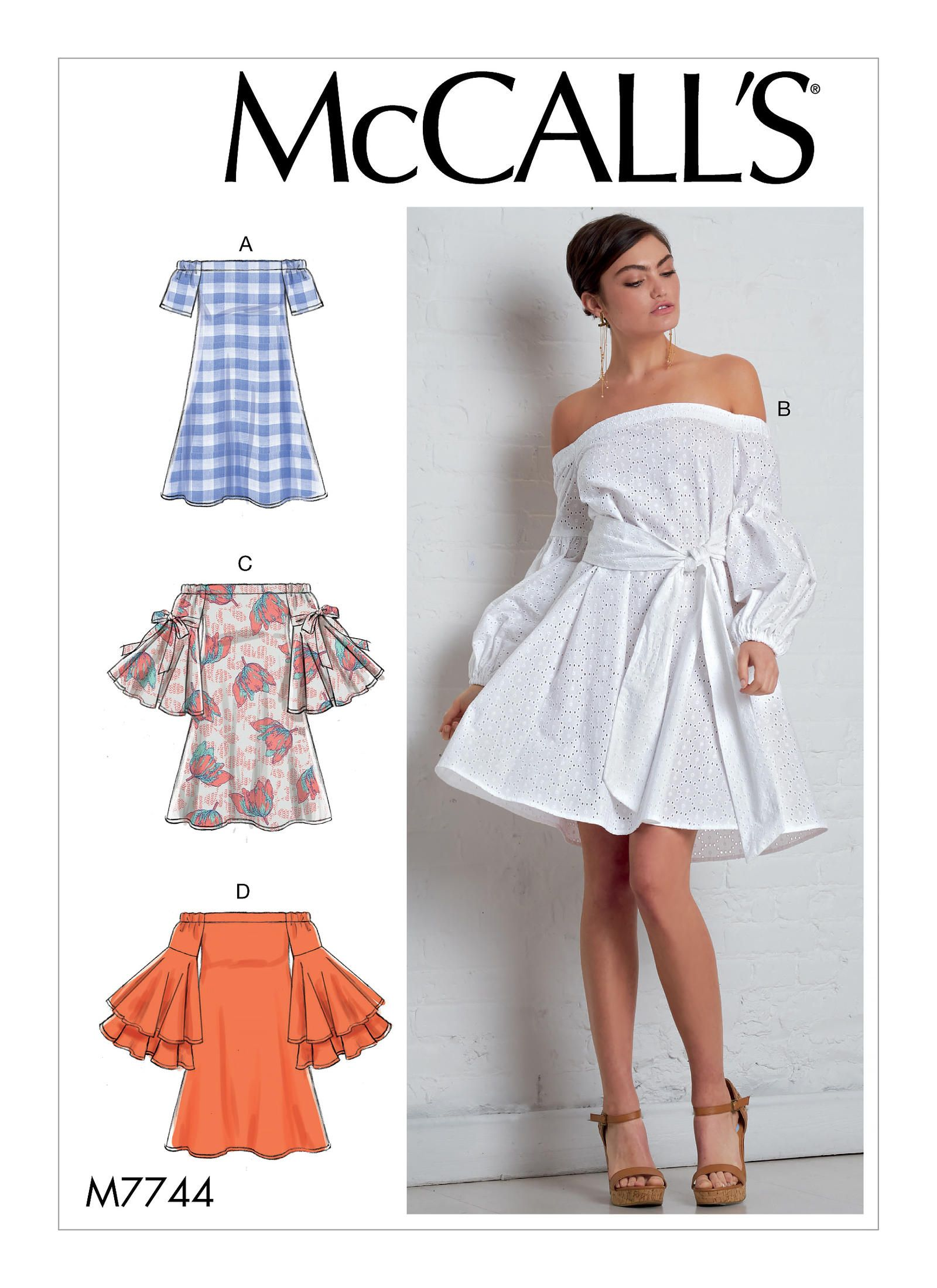 M7744   McCall\'s Patterns   Sewing Patterns   clothes   Pinterest ...