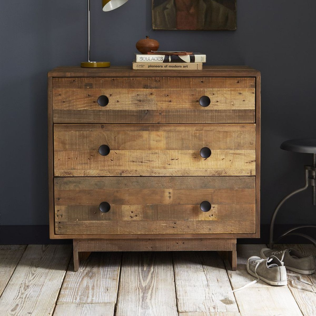 Emmerson Reclaimed Wood  Drawer Chest West Elm Uk
