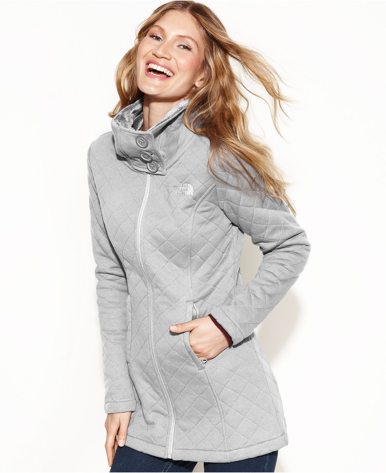 The North Face Jacket Caroluna Quilted Juniors Jackets