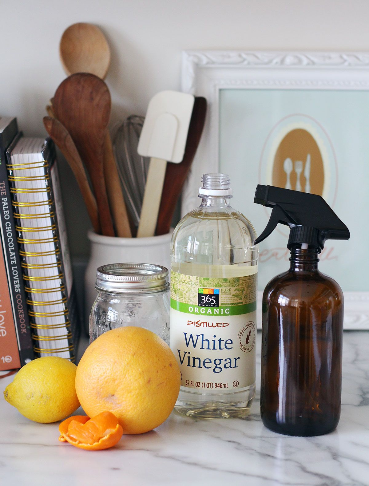 DIY Homemade Nontoxic Counter Spray Cleaner Homemade