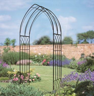Abbey Gothic Metal Garden Rose Arch Garden Arches Gothic Garden