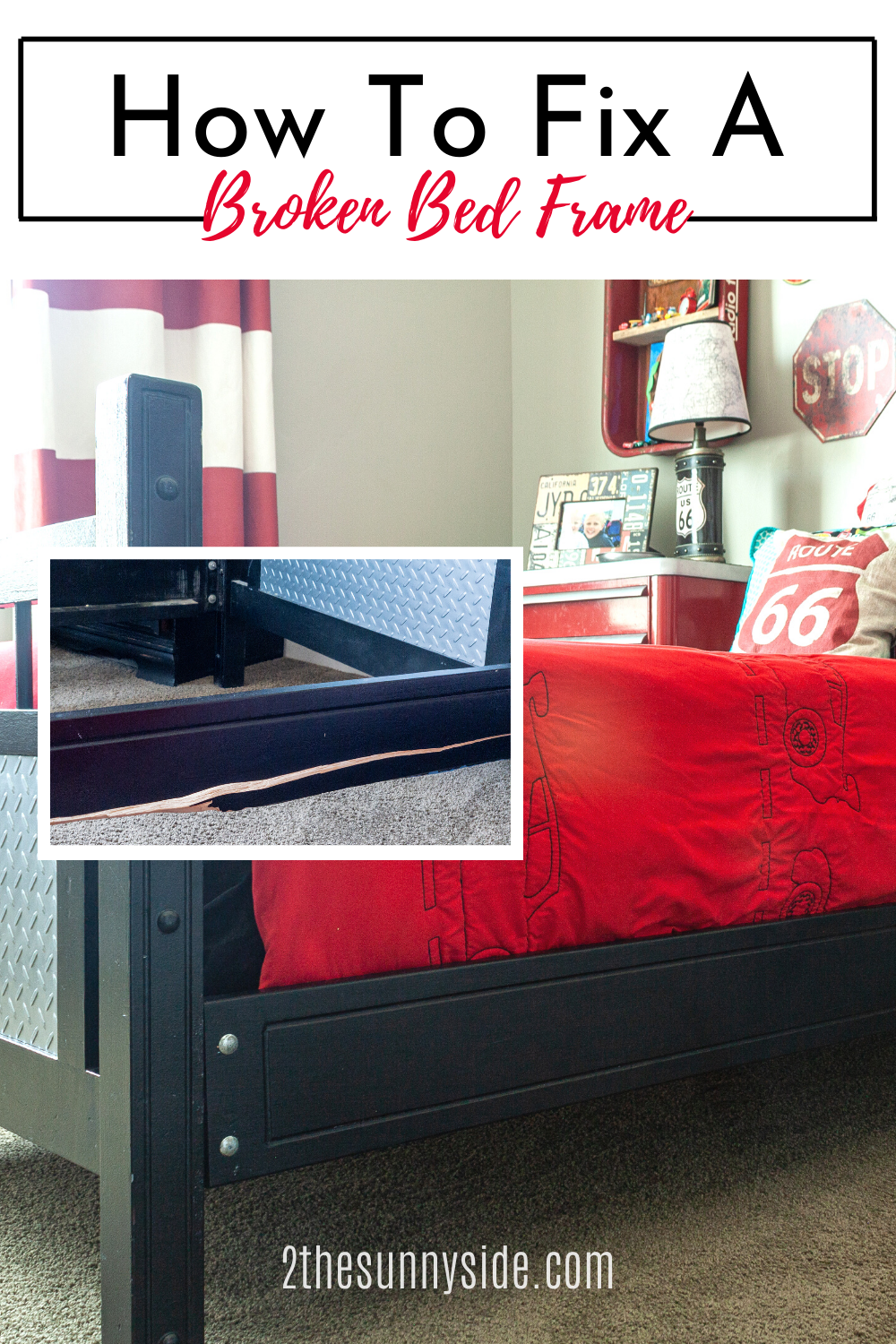 How To Fix A Broken Bed Frame In 2020 Diy Furniture Projects