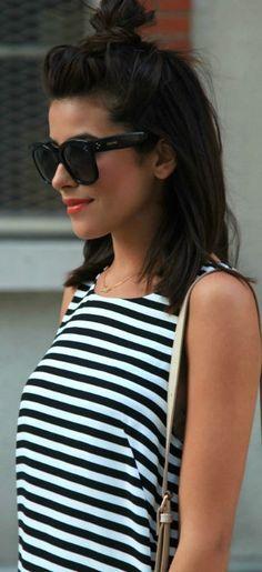 In 15 Sekunden zur Trendfrisur: Diese Messy Bun Anleitung ist super easy & stylish! #lipsdark