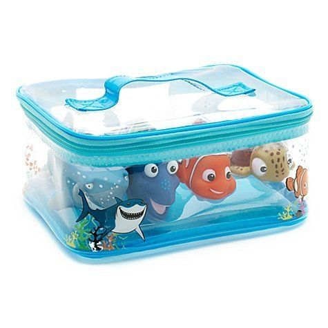 disney finding nemo 4 figure bath set games nemo party for both girls. Black Bedroom Furniture Sets. Home Design Ideas