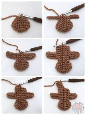 Lebkuchenmann kostenlose Häkelanleitung – Stricken ist so einfach wie 1, 2, 3 D… – crochet patterns
