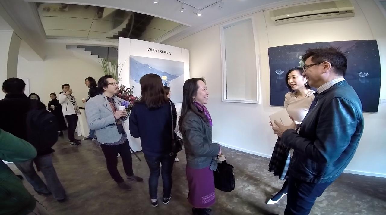Wilber Gallery (Guangzhou) featuring Zhou Yi