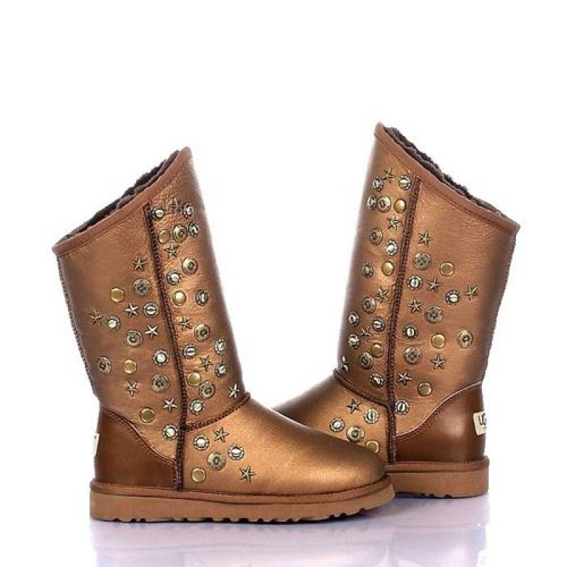 Explore Ugg Shoes, Winter Shoes, and more! Ugg Women Jimmy Choo Short  Studded 5829 Chestnut