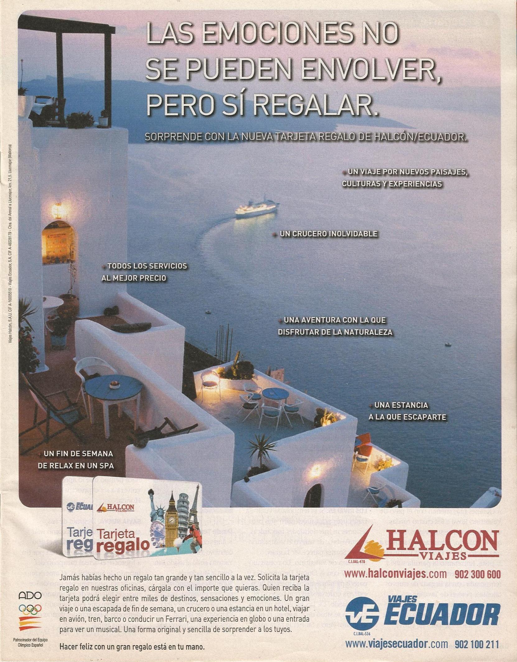 Viajes Halcón-Ecuador, ene 2010