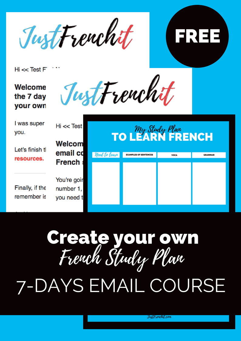 i want to learn french free