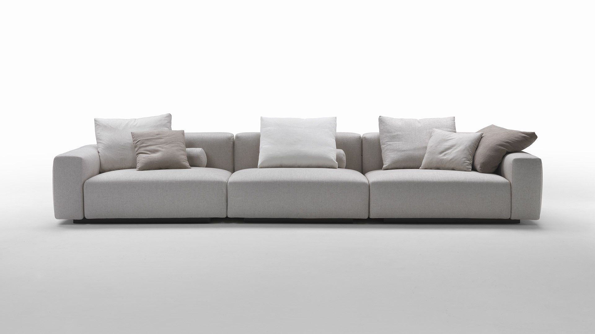 Wonderful Discover All The Information About The Product Modular Sofa / Contemporary  / Leather / Fabric LARIO
