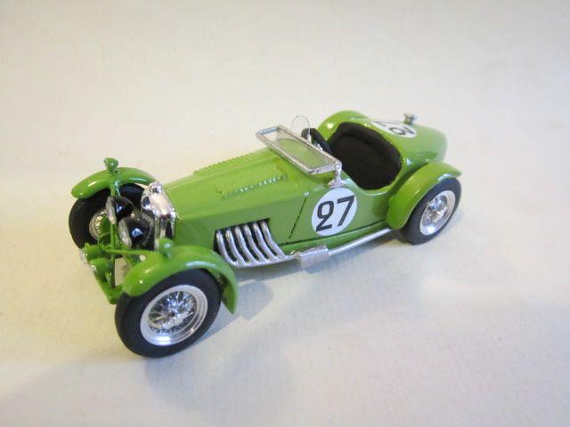 24H LE MANS 1934 - RILEY NINE MPH SIX  #27 -  Jean Sébilleau - Georges Delaroche - Modello BTS
