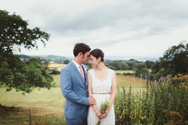 The peace of running wave to you - Wedding at The Folly Farm