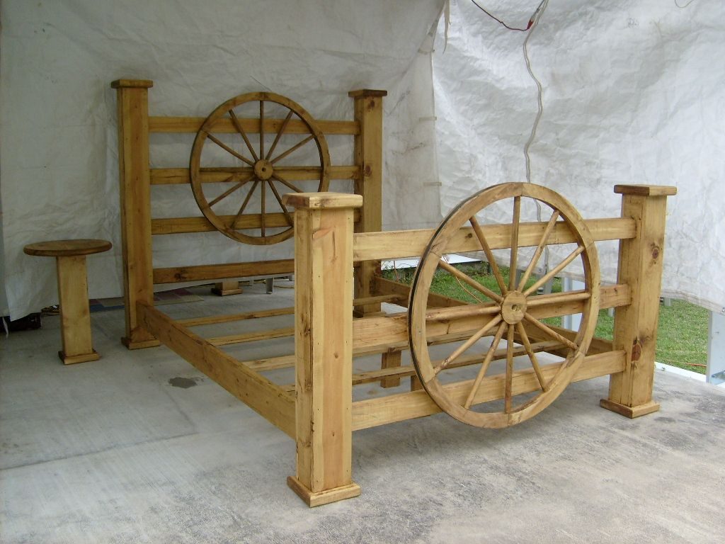 Iu0027ve Mentioned Before To Josh That I Love Wagon Wheel Furniture And.