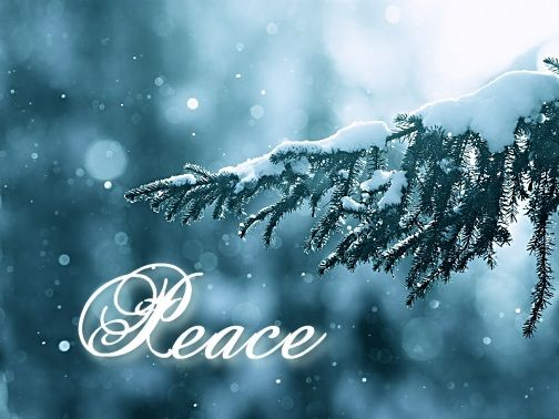Peace To All Hello December Christmas Wallpapers Tumblr Nature