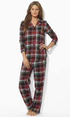 5c69e0409c Cotton Plaid Pajama Set - Lauren Sleepwear - RalphLauren.com ...