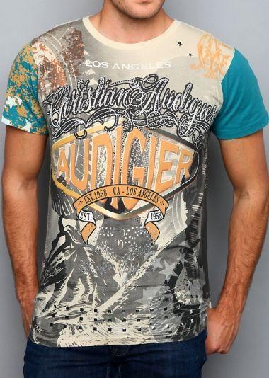 Cool Shirts Christian Audigier Men T-shirts - More at ...
