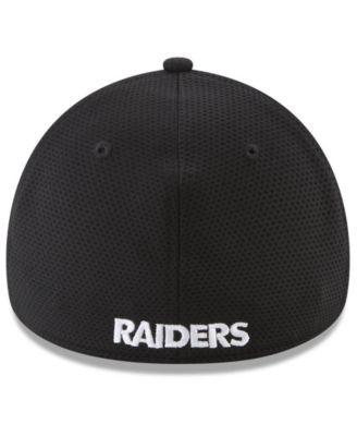 the latest e0b37 7beb8 New Era Oakland Raiders Logo Surge 39THIRTY Cap - Gray L XL
