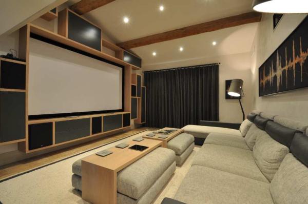 espace cin ma design en 2018 salle home cinema. Black Bedroom Furniture Sets. Home Design Ideas