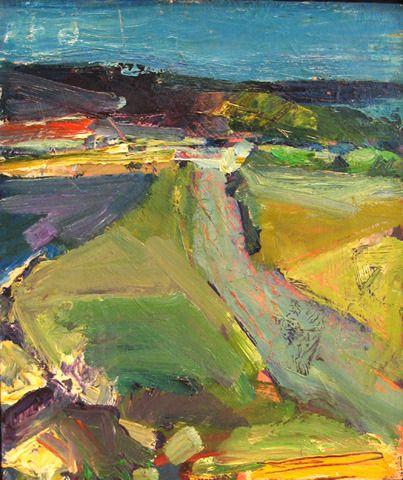Terry St John Berkeley Marina 1stdibs Com Abstract Art Landscape Landscape Paintings Abstract Landscape Painting