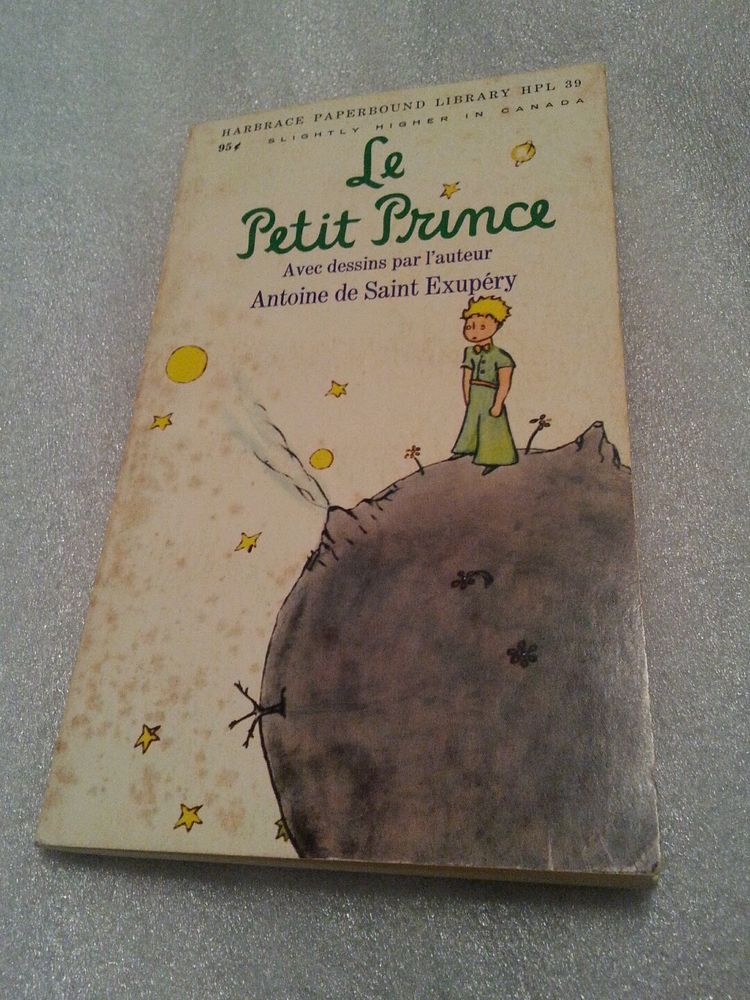 Le Petit Prince French Paperback Mystery Author Article Bonus