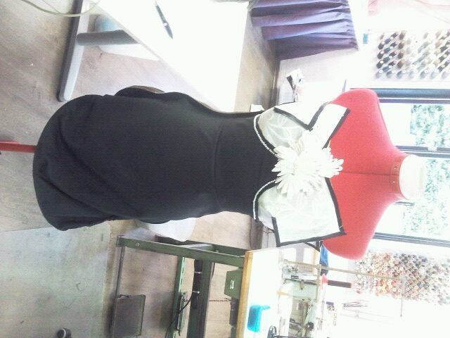 My masterpiece of the fashion show, my graduation
