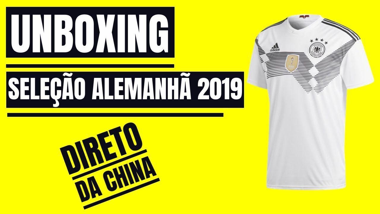 ⚽UNBOXING Camisa Da ALEMANHA  529c1c7522d5c