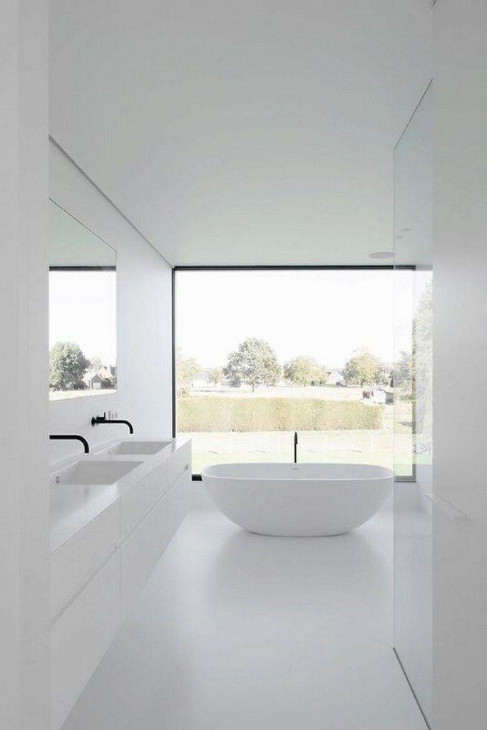 44 Stylish Modern Bathroom Design Ideas To Inspire Yourself 6 In 2020 Minimalist Bathroom Design Modern Bathroom Design Minimalist Bathroom