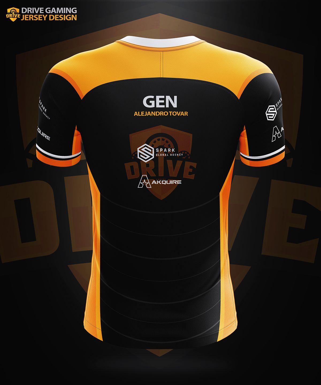 Desain Baju Team Esport - BAJUKU