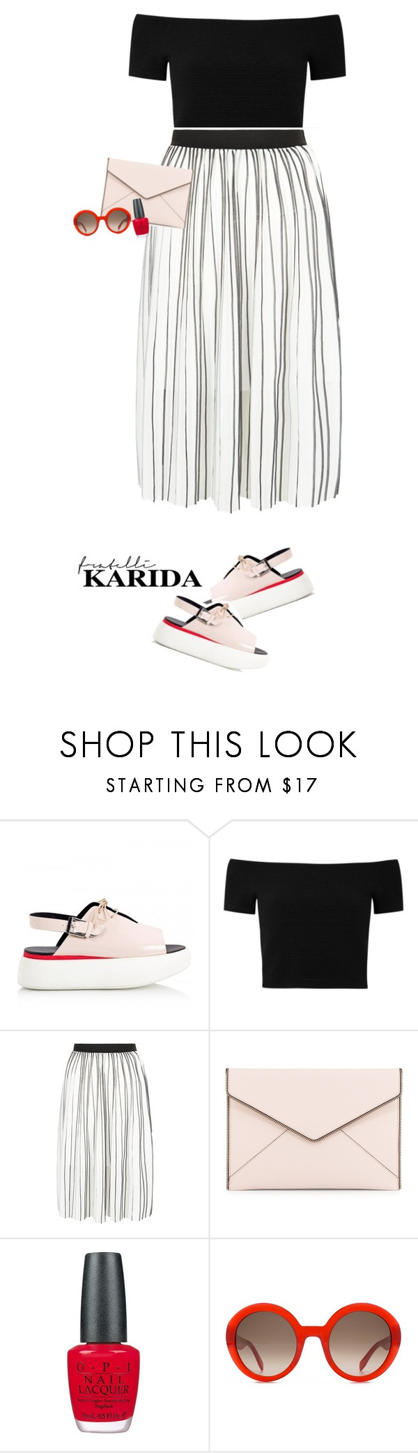 """""""Fratelli Karida shoes"""" by ellyg91 ❤ liked on Polyvore featuring Alberto Guardiani, Alice + Olivia, New Look, Rebecca Minkoff, OPI, Alexander McQueen and shoes"""