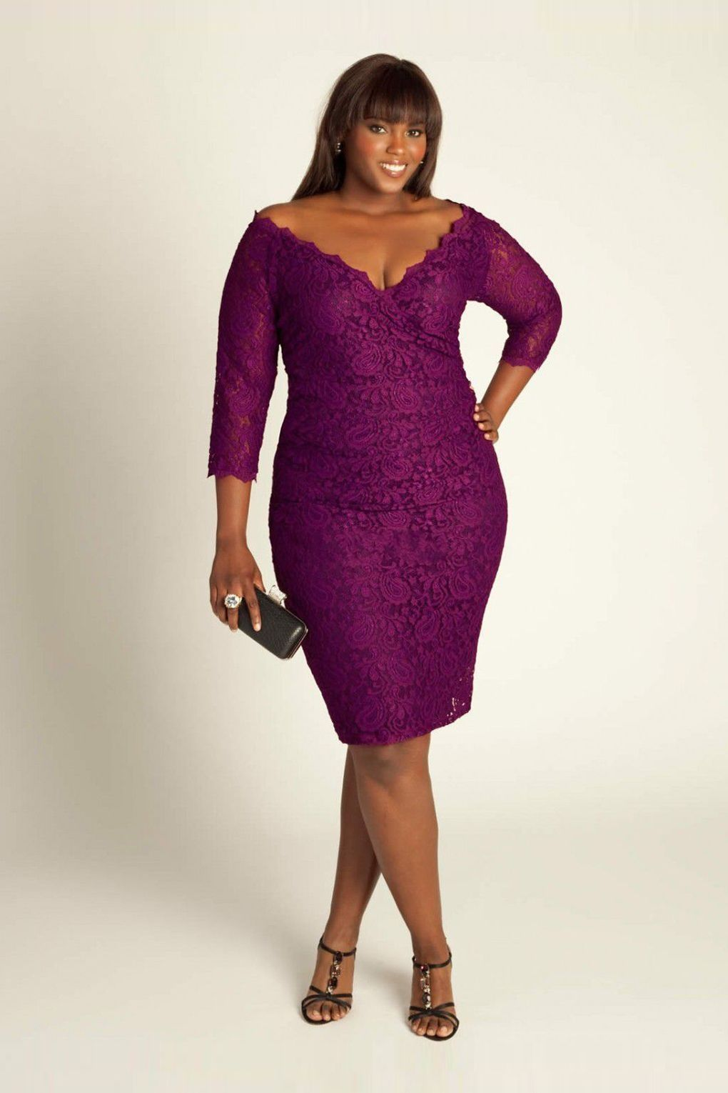 purple plus size dresses | Lastest Styles Off Shoulder Purple Prom ...