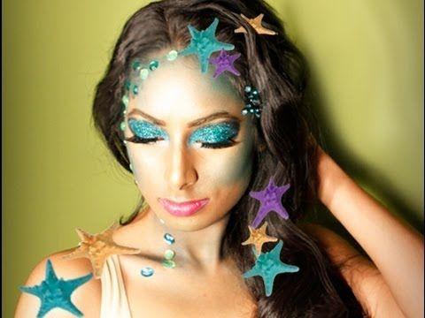 Seductive Mermaid Makeup Tutorial | Tutorials! Makeup and Hair ...