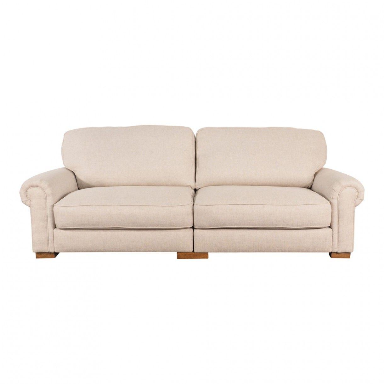 Edward 4 Seater Sofa Dublin Linen