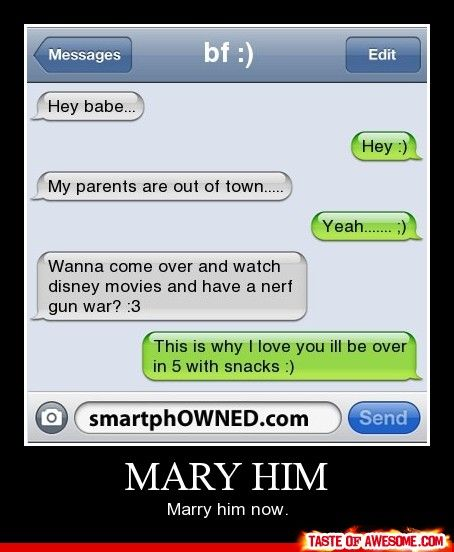 They spelled marry wrong the first time. Oh well, it's still cute!