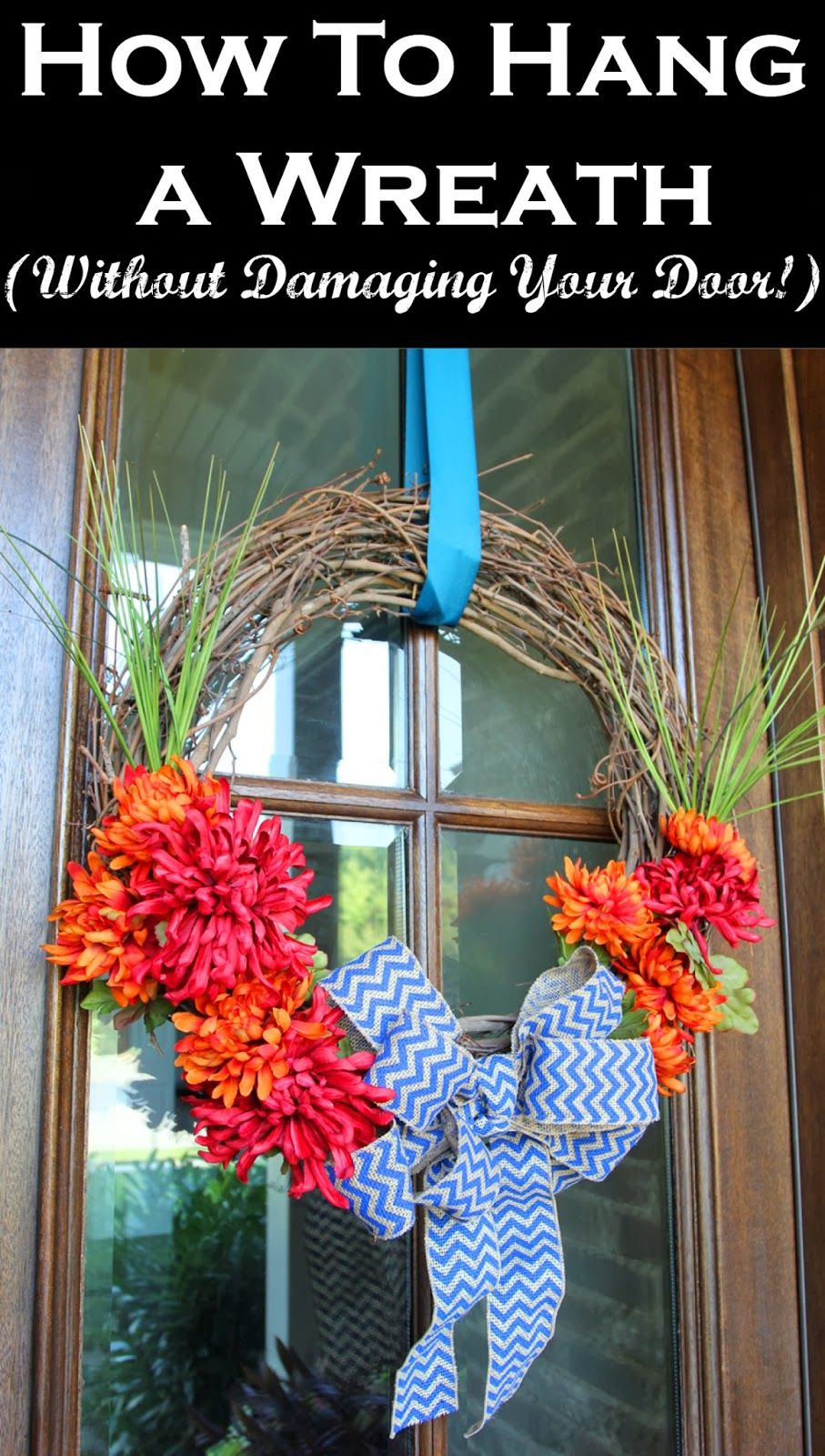 How to Hang a Wreath on a Storm Door