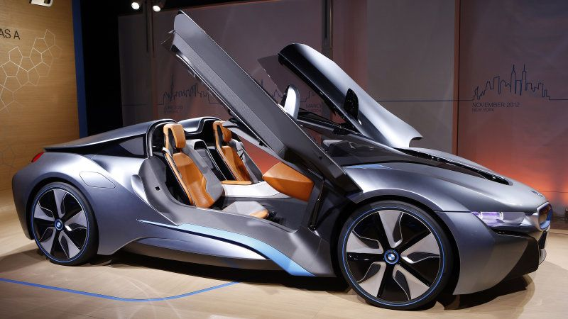 Bmw I8 Roadster Headed For Production In 2018 Luxury Autos