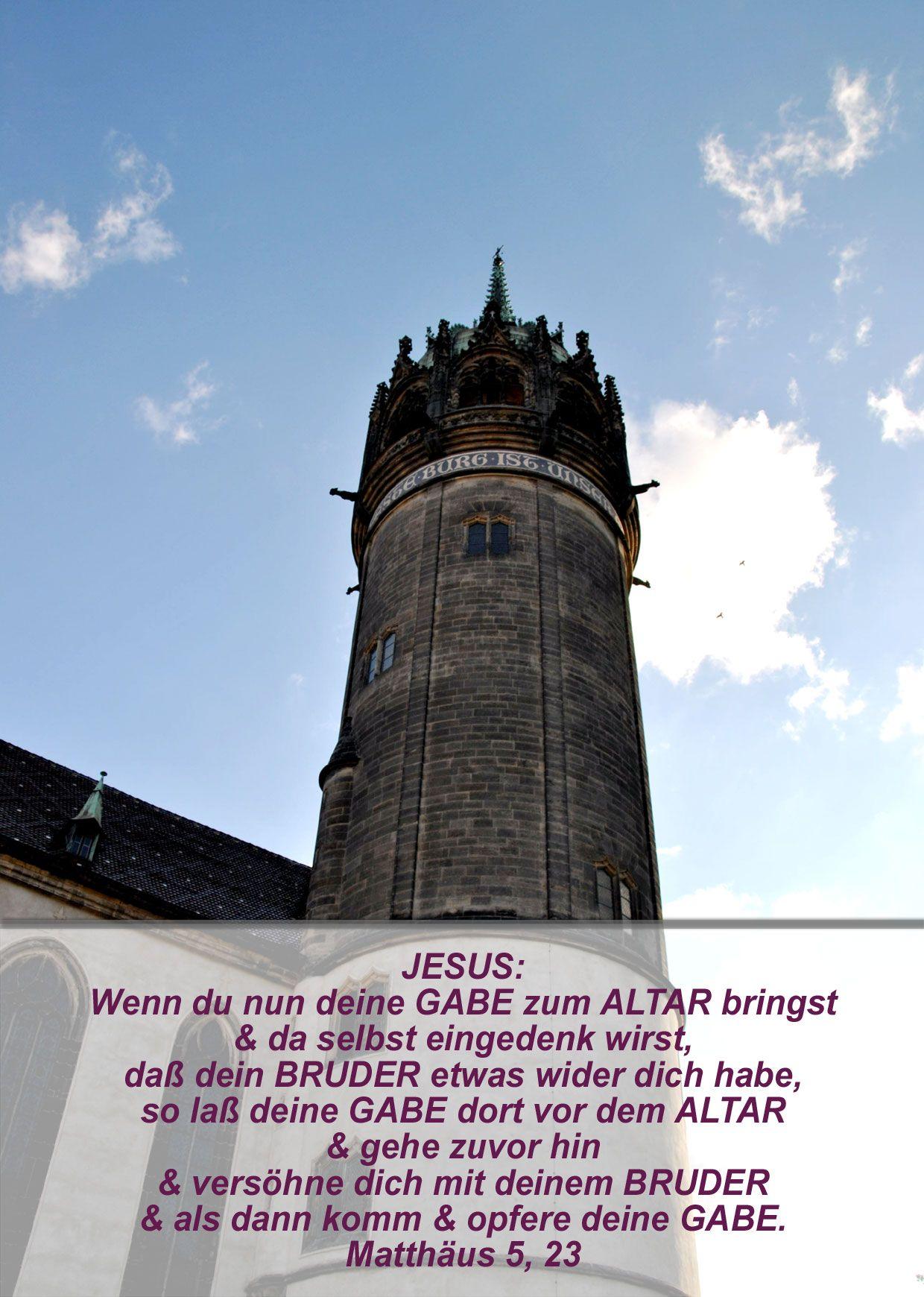 Bibel Matthäus 5