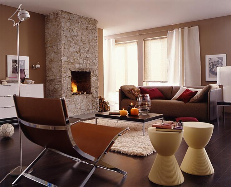 Wohnen mit Holz | Wohnzimmer dekor, Kleine wohnung ...