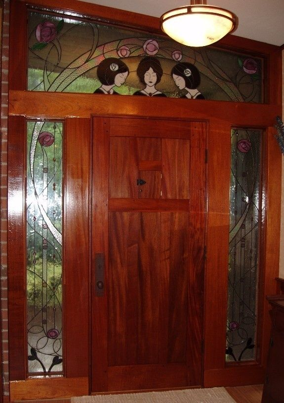 Arts And Crafts Front Door Style