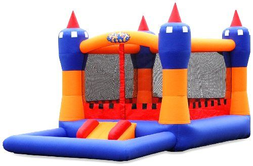Blast Zone Ball Kingdom Inflatable Bounce House With Balls Pit By