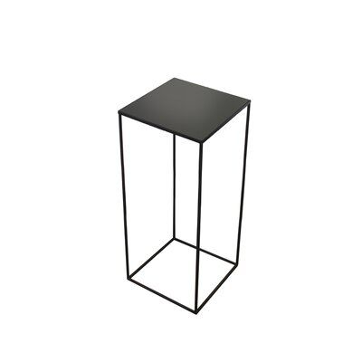 Notre Monde This Mirror Square End Table was exquisitely made from the finest materials that are sure to make a lasting impression.