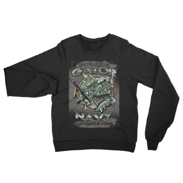 Navy US - Raglan sweater