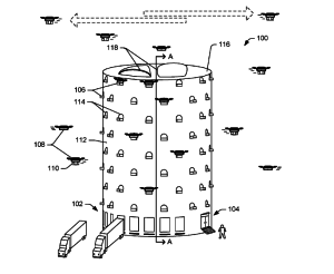 Amazon patents urban drone centres - http://www.logistik-express.com/amazon-patents-urban-drone-centres/