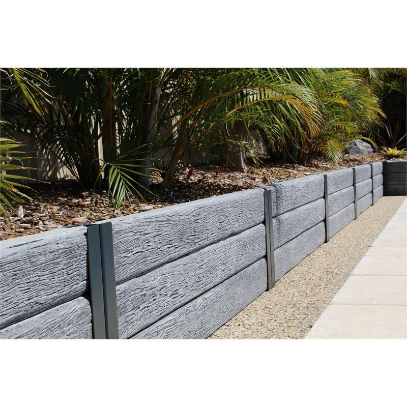 Image Result For Ridgi Gumtree Sleeper Concrete Sleepers Steel Retaining Wall Reinforced Concrete