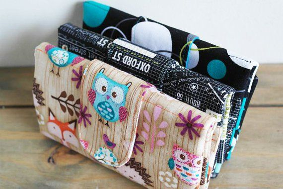 Elegant Tri-Fold Wallet - Sew and Sell | Pinterest | gute Ideen und ...